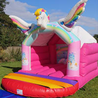 3d Unicorn Bouncy Castle