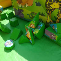Jungle Soft Play Blocks
