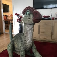 Percy The Parasaurolophus