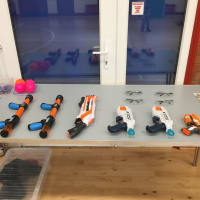 Nerf Shoot Out Battle Shooting Range