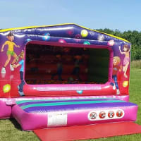 Party Time Box 10ft X 10ft This Is A Low Castle Only Being 7.5 Ft