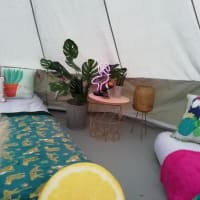 Tropical Bell Tent Hire