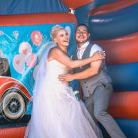 Wedding Adult Bouncy Castle