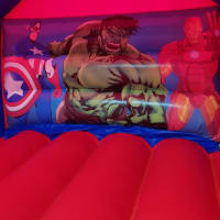Super Heroes Castle & Slide