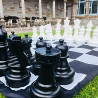 Giant Garden Chess Set