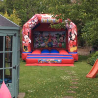 Mickey Mouse Clubhouse Bouncy Castle Hire Surrey