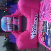 Princess Dance & Bounce Disco Bouncy Castle