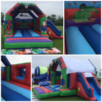 Superhero Castle With Side Slide
