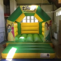 11ft X 15ft Princess Castle - Green And Yellow
