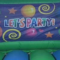 Lets Party Bouncy Castle