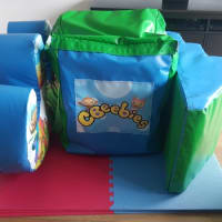 Cbeebies Soft Play Set