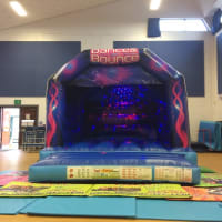 Dance & Bounce Disco Bouncy Castle