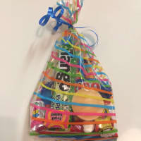 Ribbon Tied Party Bag