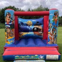 10x12 Pirate Theme Bouncy Castle