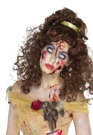 Golden Zombie Princess Wig