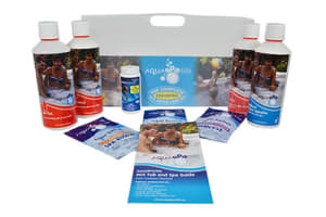 Aquasparkle Complete Spa Water Care Kit Chlorine