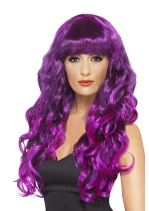 Purple Siren Wig