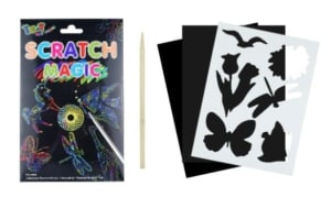 Magic Colour Scratch Set