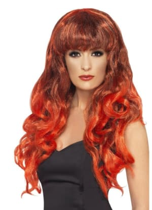 Siren Wig Red And Black