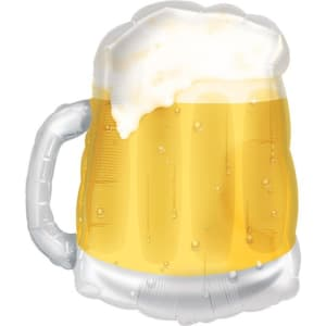 Beer Mug Supershape Balloon - 23inch Foil