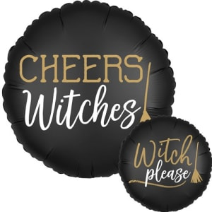 Cheers Witches Balloon 18 Inch