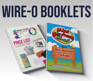 A4 Wire-o Booklets 170gsm