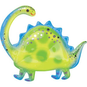 Brontosaurus Supershape Balloon - 32inch Foil
