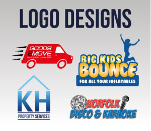 3 X Logo Designs / Logo Re-designs