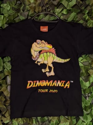 Dinomania T-shirt Spike The Spinosaurus