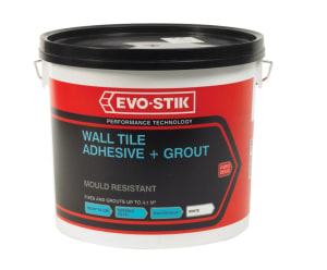 Evo-stik Wall Tile Adhesive And Grout Mould Resistance Large Tub