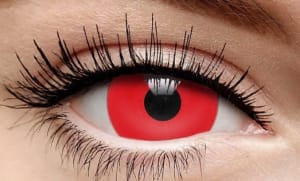 Fashion Contact Lenses 1 Day Wear - Red