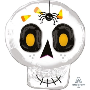 "Cute Skull 25"" Supershape Balloon"