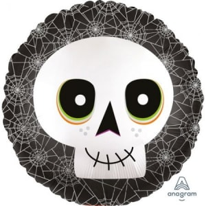 Halloween Skull Balloon 18 Inch