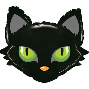 Black Cat 28inch Supershape Balloon