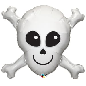 Happy Skull 32inch Supershape Balloon