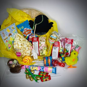 Kids Gold Easter Gift Hamper