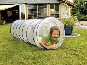 Transparent Play Tunnel