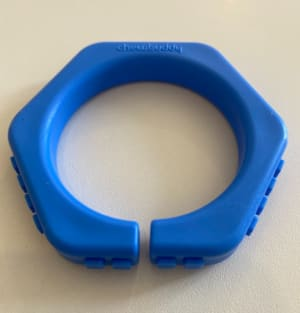 Oral Chew Bangle Blue