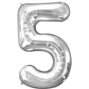 Number 5�balloon - 34inch Foil