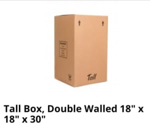 Tall Packing Box