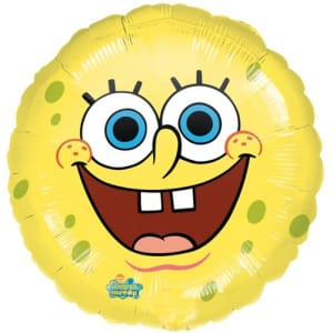 Spongebob Squarepants 18 Inch Balloon