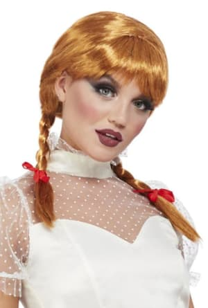 Porcelain Doll Wig