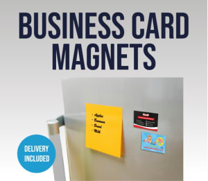 Business Card Magnets (single Sided)