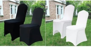 Diy Chair Covers And Bows