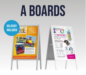 A2 A Boards With 2 A2 Posters