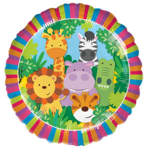Jungle Friends Balloon - 18inch Foil