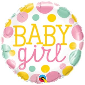 Baby Girl 18 Inch Balloon