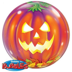 Jack Olantern 22inch Bubble Balloon