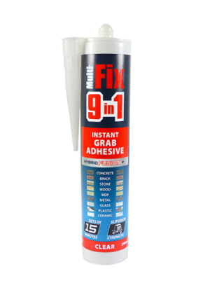 9 In 1 Instant Grab Adhesive Clear 290ml