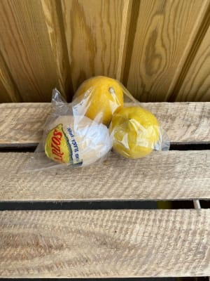 Bag Of 3 Lemons